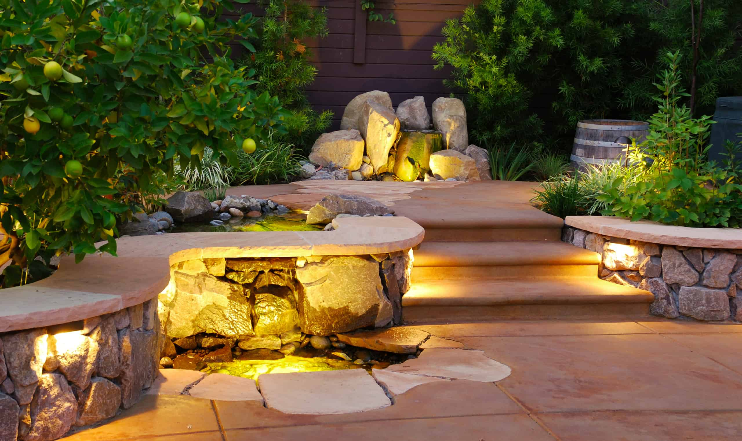 luxurious east bay landscaping